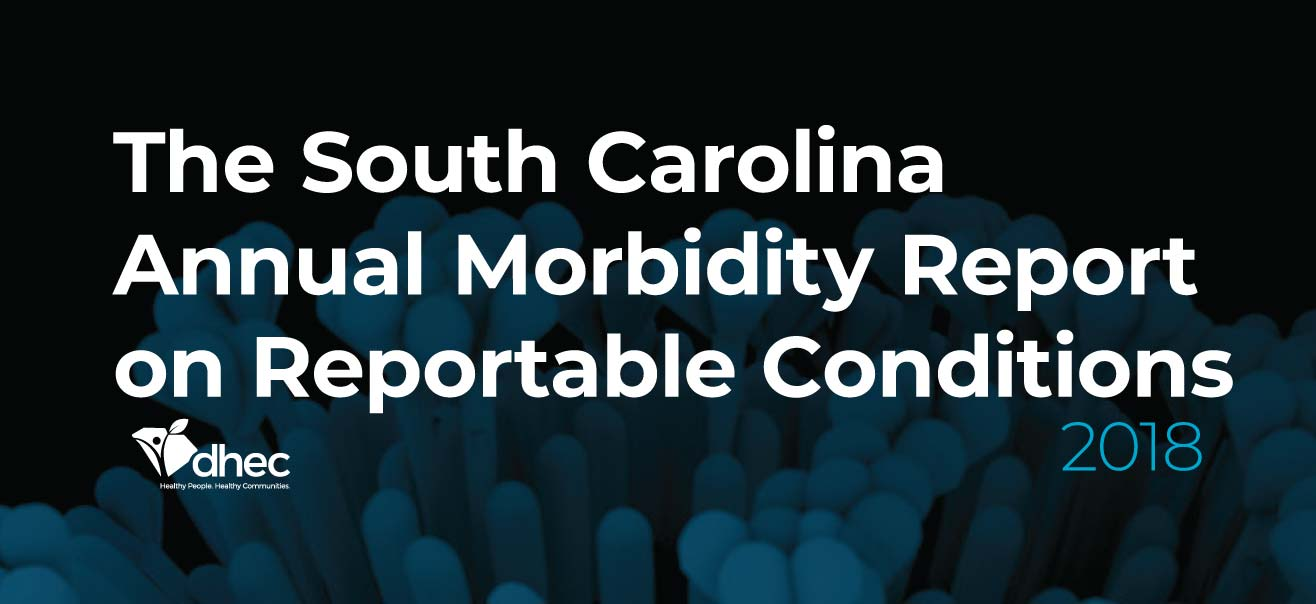 Annual Morbidity Report on Reportable Conditions over sea creature