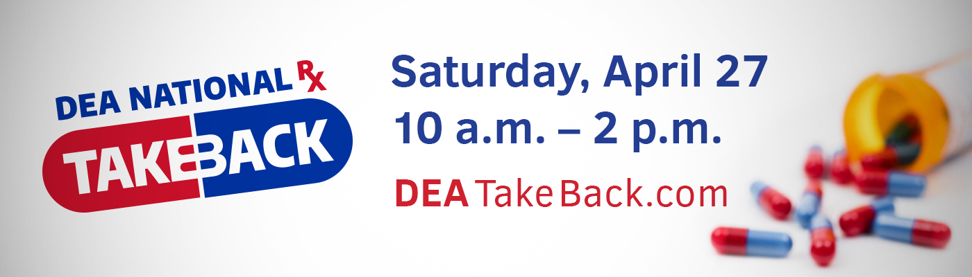 DEA Drug Take Back Day April 2019