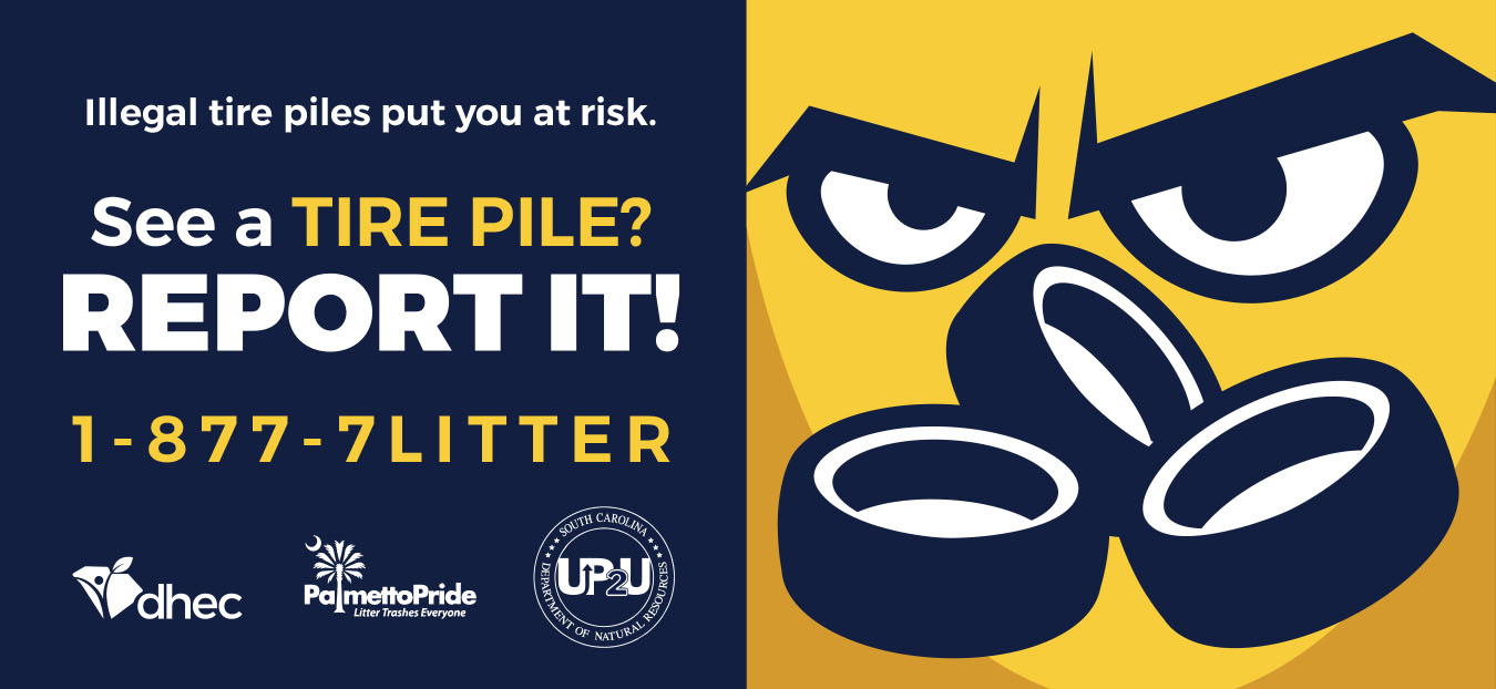 See It, Report It - Report illegal tire piles!