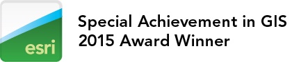 ESRI 2015 Special Achievement Award Logo
