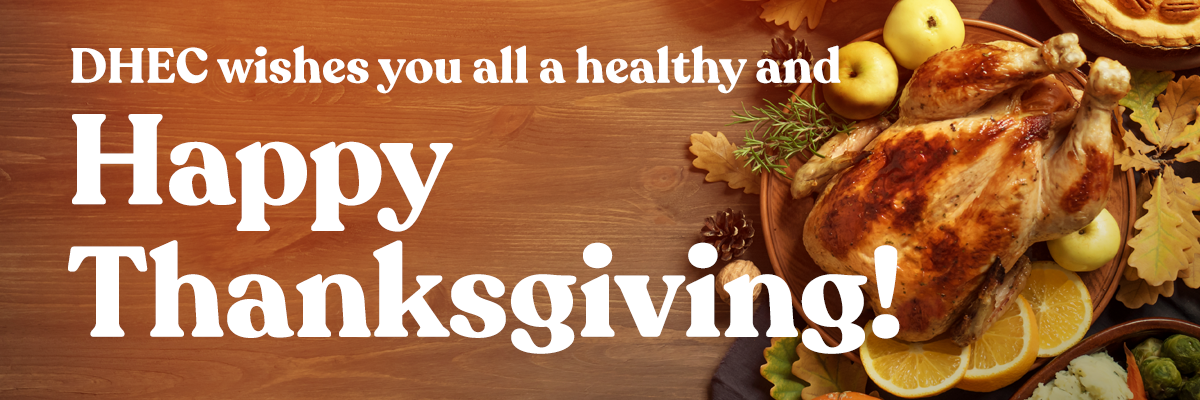 Thanksgiving Holiday Tips Banner