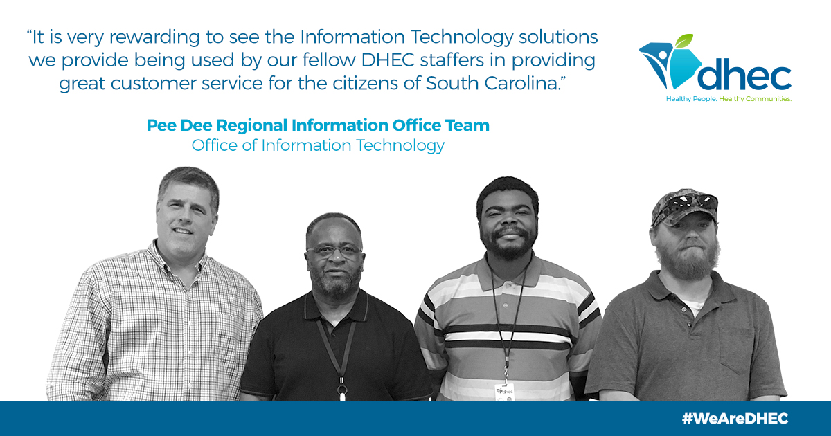 Pee Dee Information Office Team