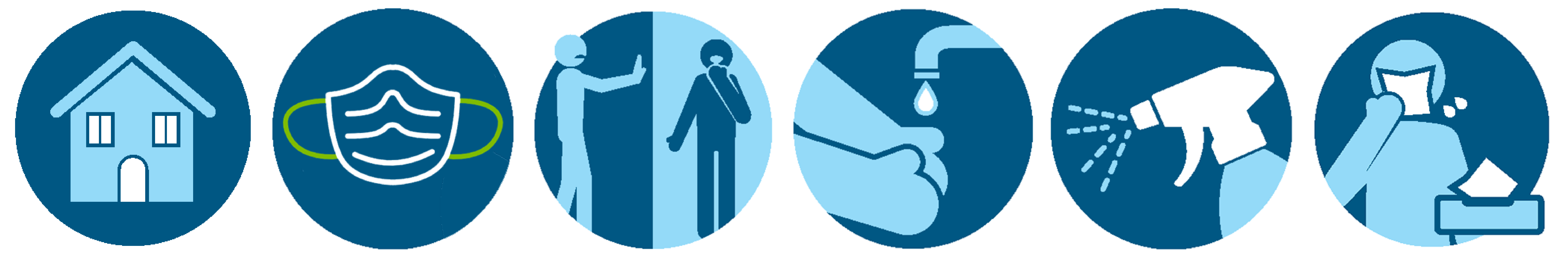 COVID Prevention Icons