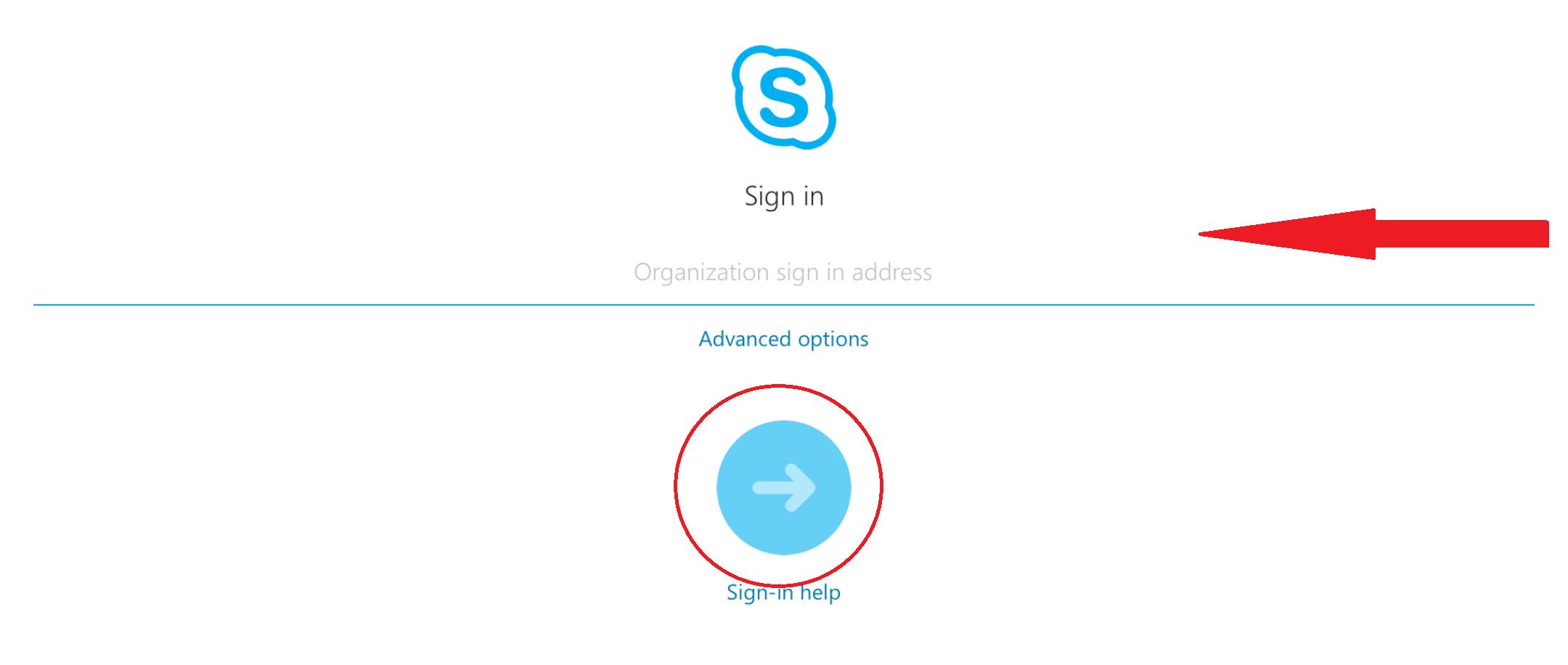 Join Skype App - Step 2