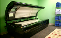 Picture of tanning bed