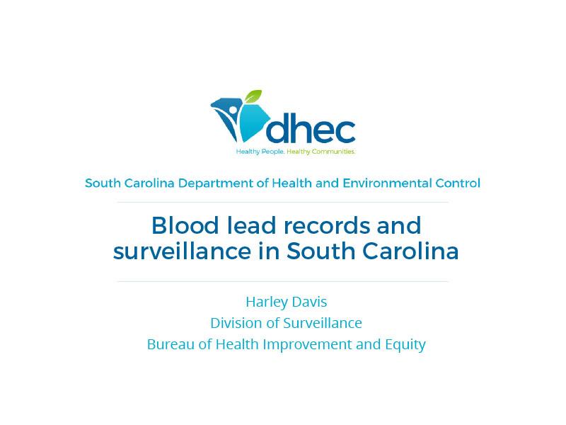 2017 Health Data Symposium | SCDHEC