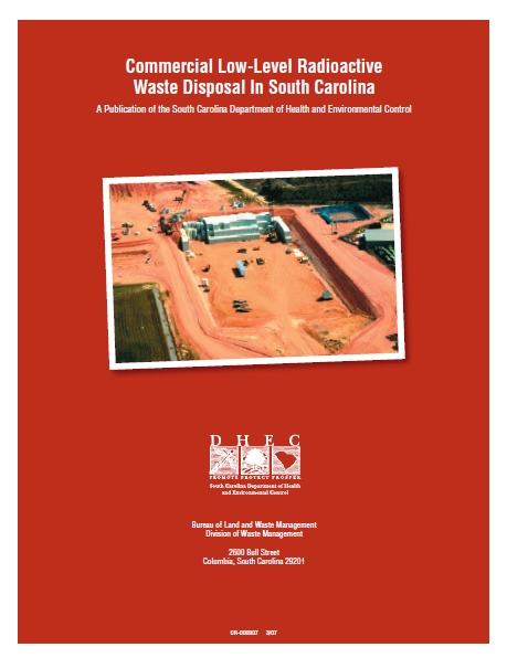 Commercial Low-Level Radioactive Waste Disposal In South Carolina Cover Page