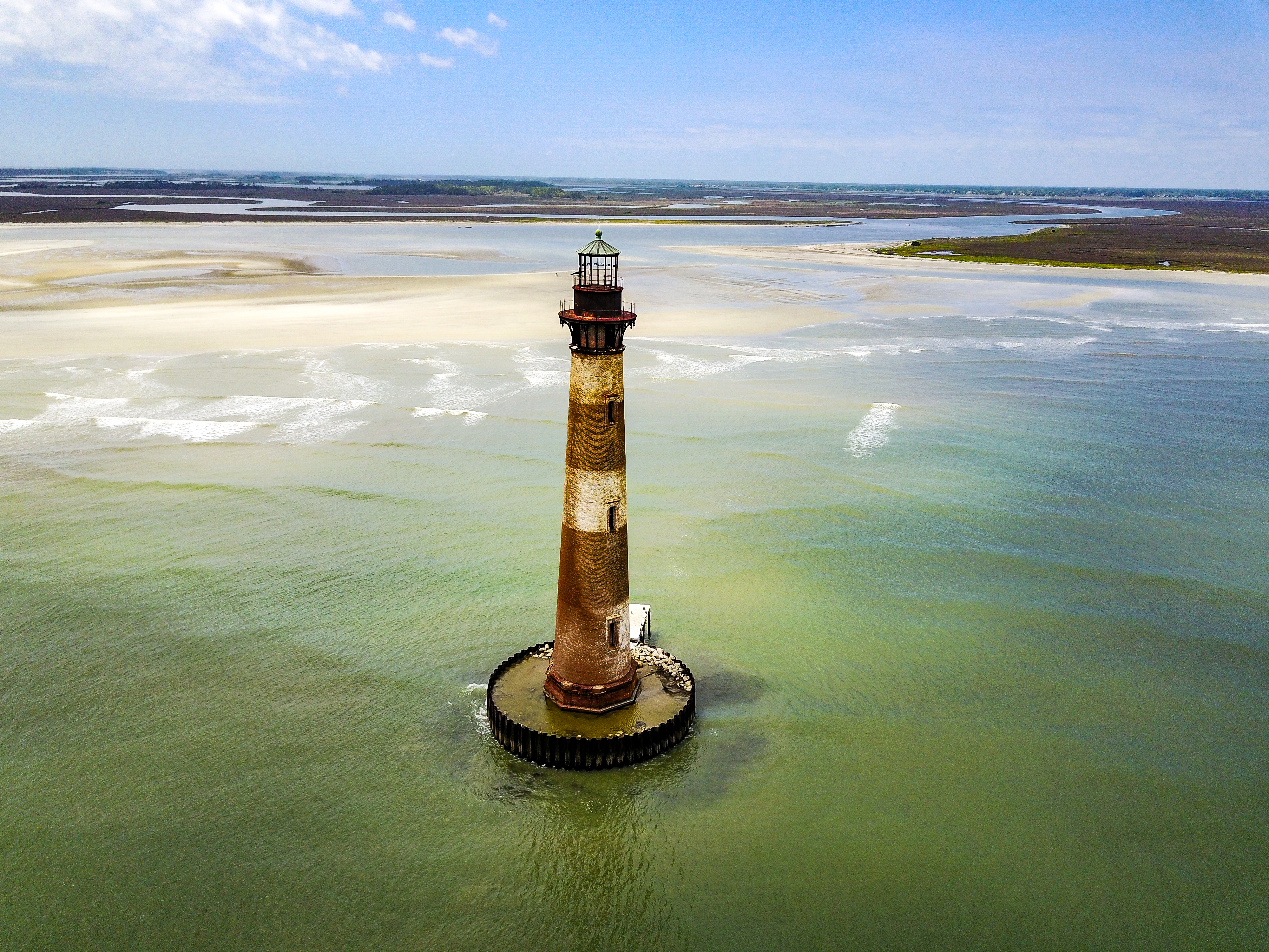 Light over the Lowcountry, Morris Island, Photo by Dennis Balkham
