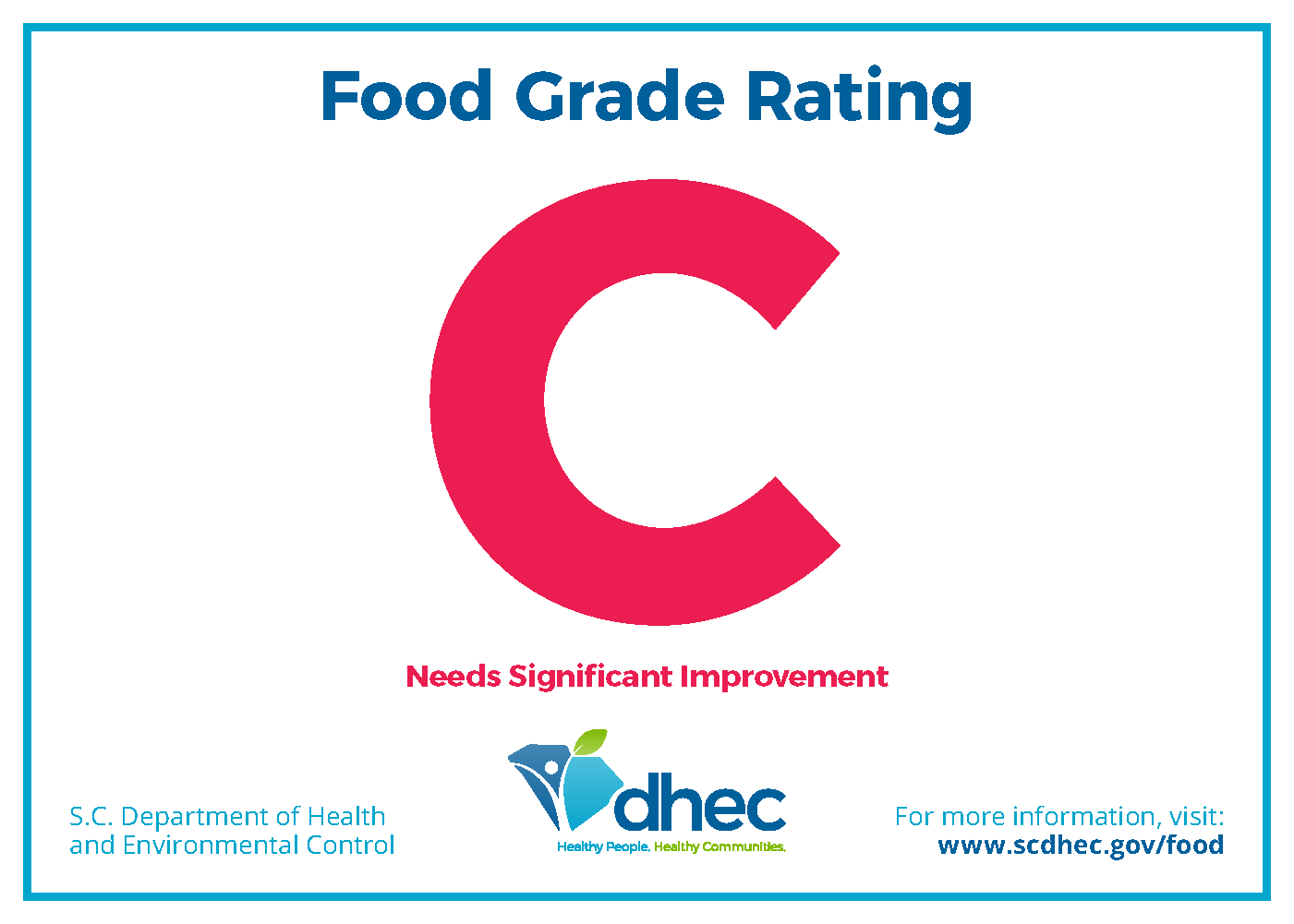image of Grade C rating