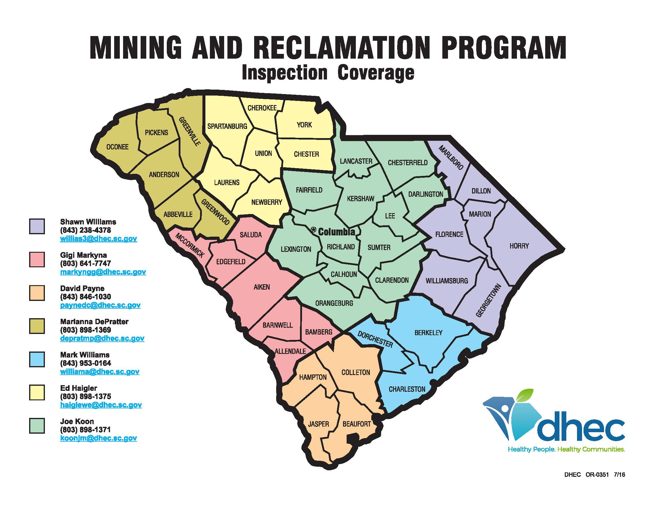 Mining and Reclamation Program